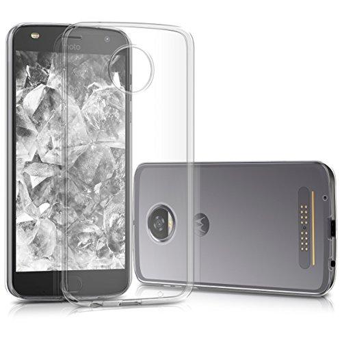 kwmobile Motorola Moto Z2 Play Hülle - Handyhülle für Motorola Moto Z2 Play - Handy Case in Transparent