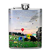 hip flask Airplane In The Sky Hip Flask - Stainless Steel Shot flasks for Storing...