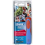 Oral-B Stages Power Kids Elektrische Kinderzahnbürste, im Avengers Design