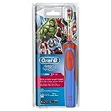 Oral-B Stages Power Kids Elektrische Kinderzahnbürste, im Avengers Design