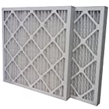 "US Home Filter SC80-20X20X2 20x20x2 Merv 13 Pleated Air Filter (6-Pack), 20"" x 20"" x 2"""