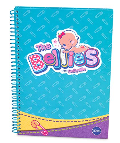 The Bellies - Libreta Mediana (A5) Bellies, niñas a Partir de 3 años (Famosa 760018194)