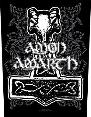Amon Amarth-Hammer [Schiena toppa, Stampa] [bp765]