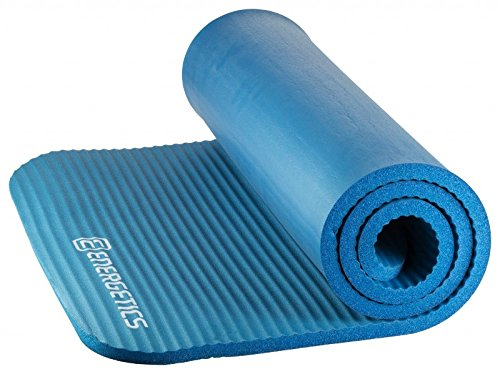 ENERGETICS Fitnessmatte NBR 142 x 58 cm, Blau, One Size