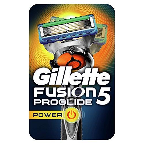 Gillette Fusion ProGlide Power Herren Rasierer mit Flexball-Technologie (Verpackung kann variieren) (Gillette-rasierer Rasierer)