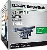 Rameder Komplettsatz, Dachträger SquareBar für Chevrolet Captiva (115961-05597-72)