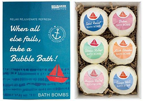 Bubble Bath Set (6er Set Badebomben