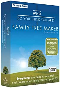 Who Do You Think You Are? Family Tree Maker Deluxe Edition