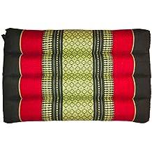 Laeto Home & - Cojín Triangular tailandés para colchón de meditación, ...