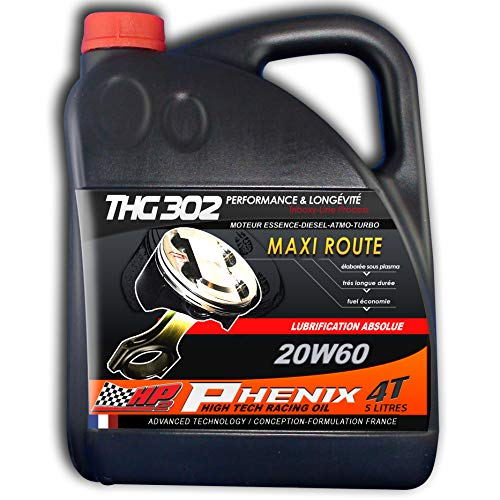 THG302 PHENNIX MAXI RUOTA 20W60 - La lubrificazione motore Absolu