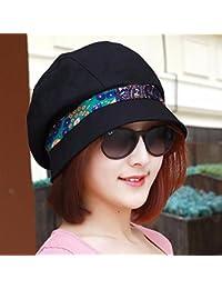 RangYR Sombrero De Mujer Sra. Cap Embellecimiento De La Primavera Y El Verano  Sombrero De Color Caramelo Sombrero De Pescador Gorro… dded4cb9885a
