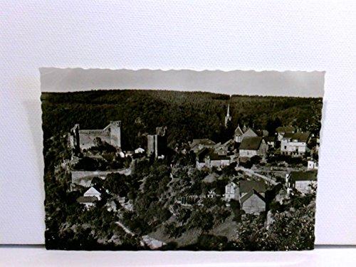 AK Burg Hohenstein i. Taunus, Gasthaus und Pension; ungelaufen, ca. 1960