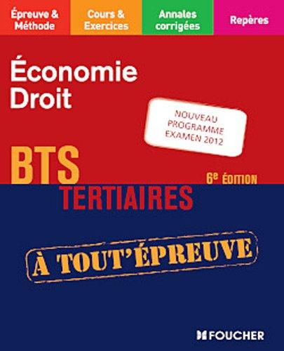 Economie - Droit 6e édition