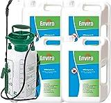 ENVIRA Mittel gegen Milbenbefall 4x2Ltr+5Ltr Sprüher