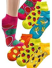 """Sneakers-Socken """"Bunte Früchte"""""""