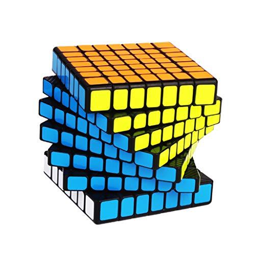 Lecc 7.-Order Geschwindigkeit Magic Cube Puzzle High-End Magnetkraft Aufkleber Glatte Umwelt ABS Material Kreative Gehirn Training Spiel Bildung Spielzeug 7X7x7