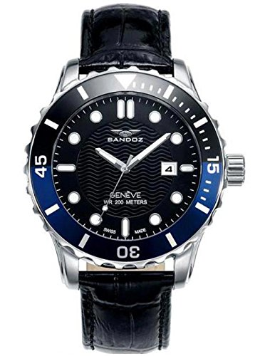 Reloj Suizo Sandoz Caballero 81397-57 Diver Collection
