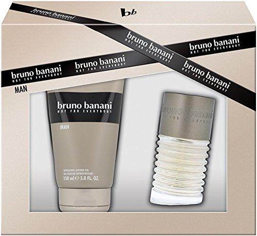 Bruno Banani Man Eau de Toilette Spray 50 ml + Shower Gel150 ml, 200 ml