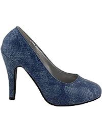 WILADY - Zapatos con correa de tobillo Mujer