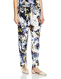 French Connection Kiki Palm Drape Tie Waste Trsr, Pantalones para Mujer