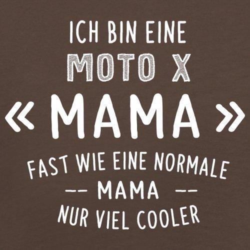Ich bin eine Moto-X Mama - Herren T-Shirt - 13 Farben Schokobraun