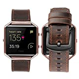 Die besten Fitbit Angebote - iBazal Fitbit Blaze Armband Leder, Fitbit Blaze Uhrenarmb Bewertungen