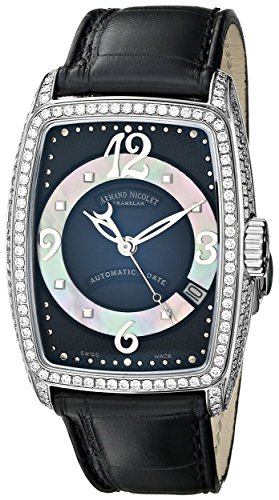 armand-nicolet-womens-9631v-nn-p968nr0-tl7-classic-automatic-stainless-steel-with-diamonds-watch
