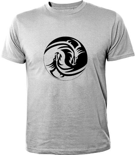 Mister Merchandise -  T-shirt - Maniche corte  - Uomo grigio M