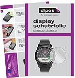 dipos I 6X Schutzfolie klar passend für MyKronoz ZeTime Folie Bildschirmschutzfolie