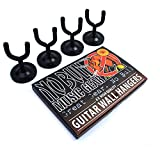 4 x 'No Bull' Guitar Wall Hangers with Lifetime Warranty
