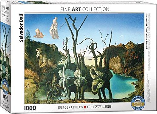 "Preisvergleich Produktbild Eurographics ""Salvador Dali Swans Reflecting Elefanten"" Puzzle (1000, mehrfarbig)"