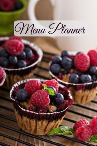 Menu Planner (Simple and Beautiful Meal Planners ) (Volume 24) by Creative Planners (2015-08-23)