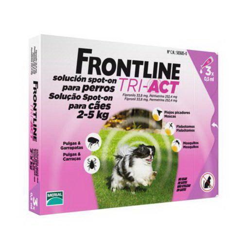 Frontline Tri-Act 3 Fialette Tra 2 e 5 KG