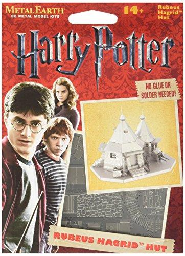 Professor Puzzle Metal Earth - Harry Potter Hagrids Hut Modelo Kit