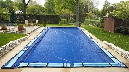 16' x 32' Winter In Ground Swimming Pool Cover 15 Year Limited Warranty by Arctic Armor (32' X Pool 16')