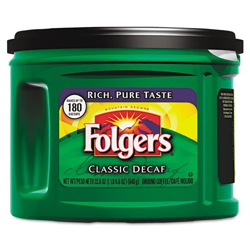 folgers-00374ct-gemahlener-classica-arrosto-decaff-decaffeinated-caff-ground-226once-can-6-carton