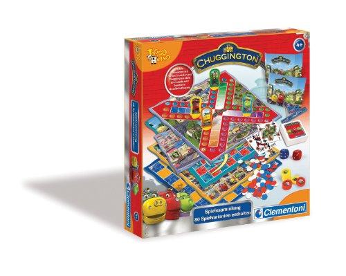 Clementoni-691654-Chuggington-Spielesammlung-80-Spielvarianten
