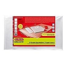 Herlitz 50014750 Book Easy Cover Wallet of 5 in Plastic Bag
