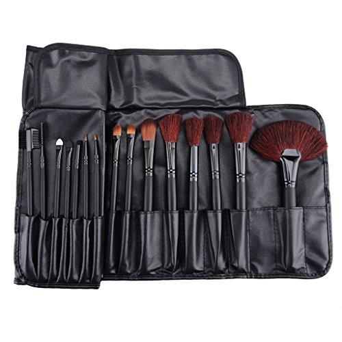 32pcs cosmétiques professionnels MakeUp poudre Pinceaux Eyeshadow Outil + Sac pochette
