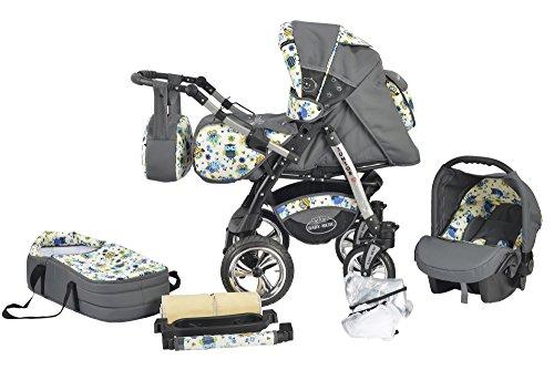 Baby Merc Junior Twist Passeggino 3in1