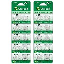 Act Pack de 20 piles Alkaline AG1