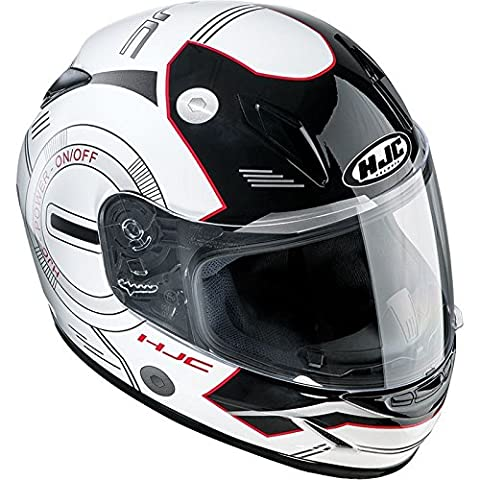 HJC CL-Y Full Face Ladies/Children's Youth Motorcycle Helmet - MC1 Yume Red