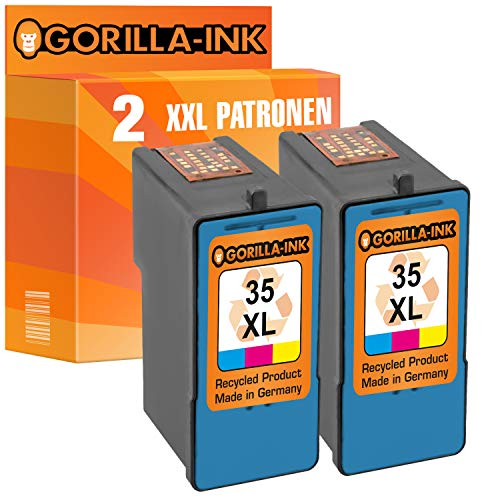 Gorilla-Ink - Cartuchos Tinta compatibles Lexmark