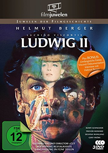 Bild von Ludwig II. - Die komplette restaurierte Miniserie in 5 Teilen (Luchino Visconti - Director's Cut ) - Filmjuwelen [2 DVDs]