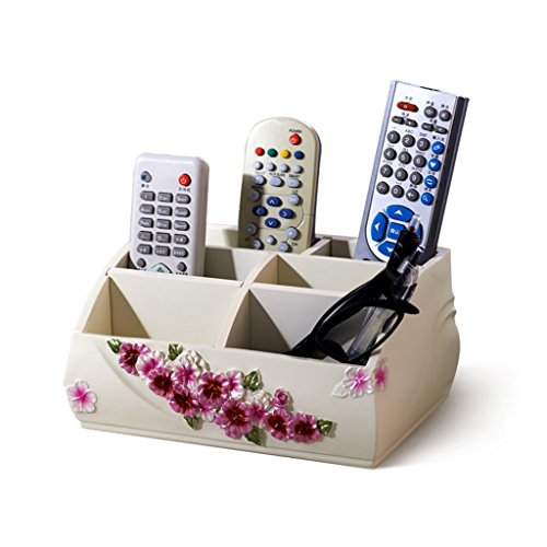 LI JING SHOP- Telecomando storage desktop di storage Box cosmetici