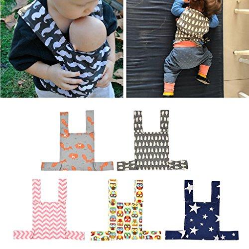 Autone Baby Puppe Carrier, Spielzeug für Kinder Kinder Kleinkinder Front Rückseite, Mini-Transportbox, Geburtstag, Stern (Baby-puppen Trägern Mit)