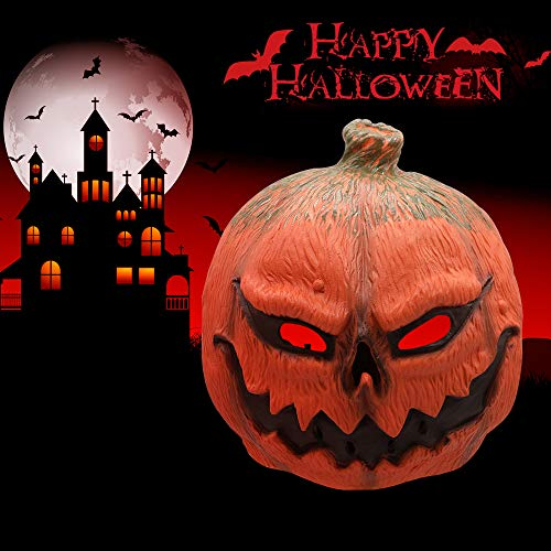 Cooolla maschera halloween latex mask realistic horror creepy zucca maschere per adulti haunted house dressing halloween costume masquerade party puntelli cosplay