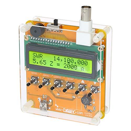 Docooler Digital Antenne Meter Kurzwellige Antennenanalysator Meter Tester für Ham Radio Q9 1~60 Mt Meter Ham Radio