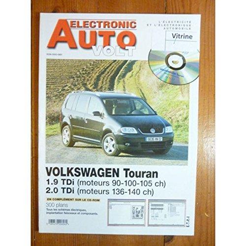 Electronic Auto Volt - Touran TDi Revue Technique Electronic Auto Volt Volkswagen par E.T.A.I.