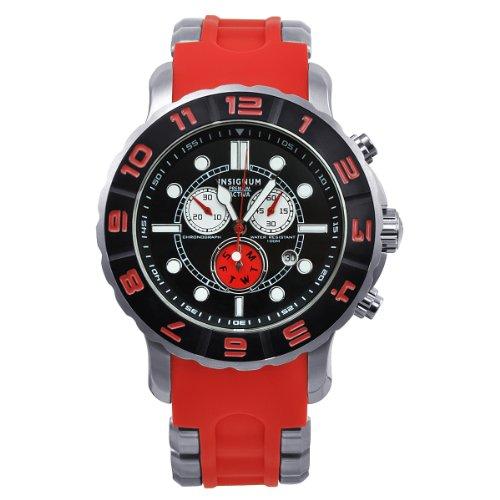 Insignum Unisex-Armbanduhr Activa Chronograph Kautschuk IP212338